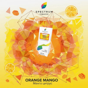Табак для кальяна Spectrum - Orange Mango (Апельсин манго) 40г