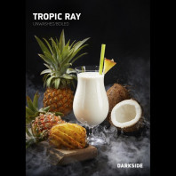Табак для кальяна Darkside CORE (MEDIUM) - Tropic Ray (Кокос ананас) 30г