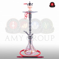 Кальян AMY Deluxe Style Steel «SS02» Red