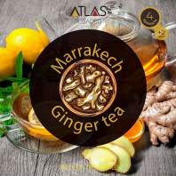 Табак для кальяна Atlas - Marrakesh Ginger Tea (Имбирный чай) 100г