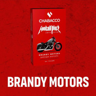 Табак для кальяна Chabacco MEDIUM - LE Brandy Motors (Бренди ваниль шоколад) 50г